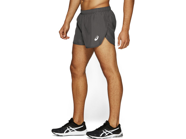 29259ae7a8 asics Silver Split Shorts Men dark grey